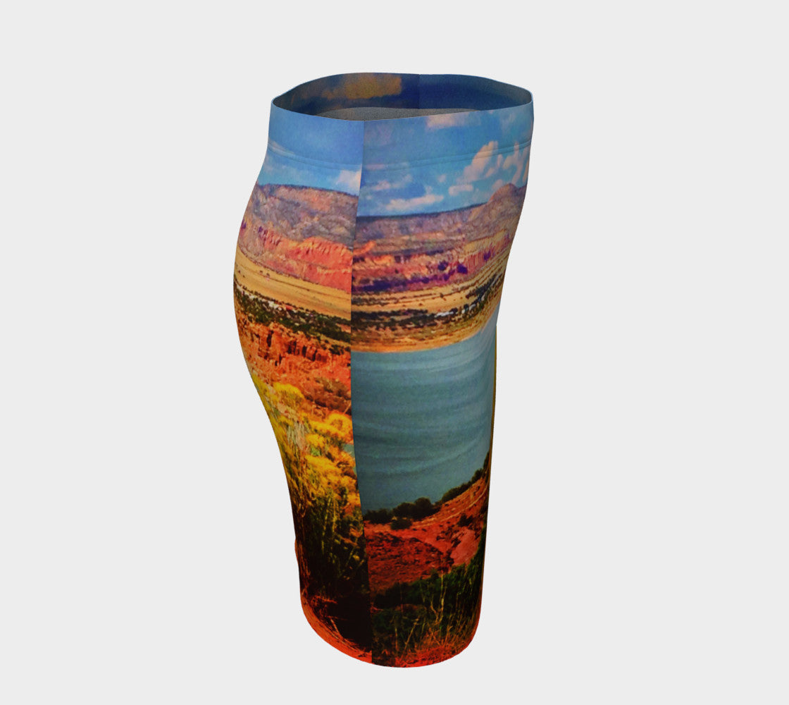 Abiquiu Lake Fitted Skirt Fitted Skirt  Roxie Rudolph Roxie Rudolph Roxie Rudolph