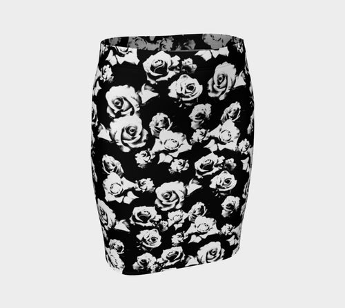 B+W Rose Fitted Skirt