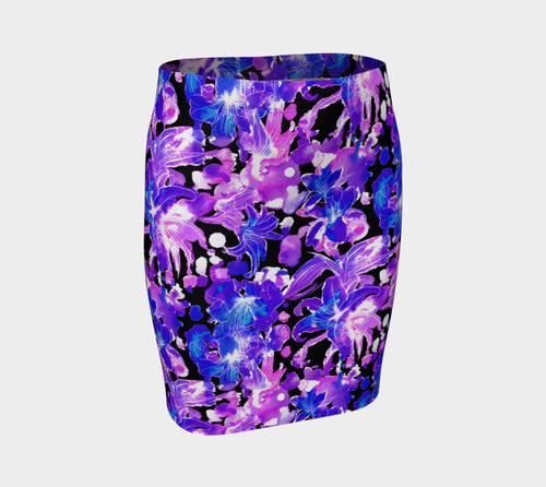 Moody Lily Fitted Skirt