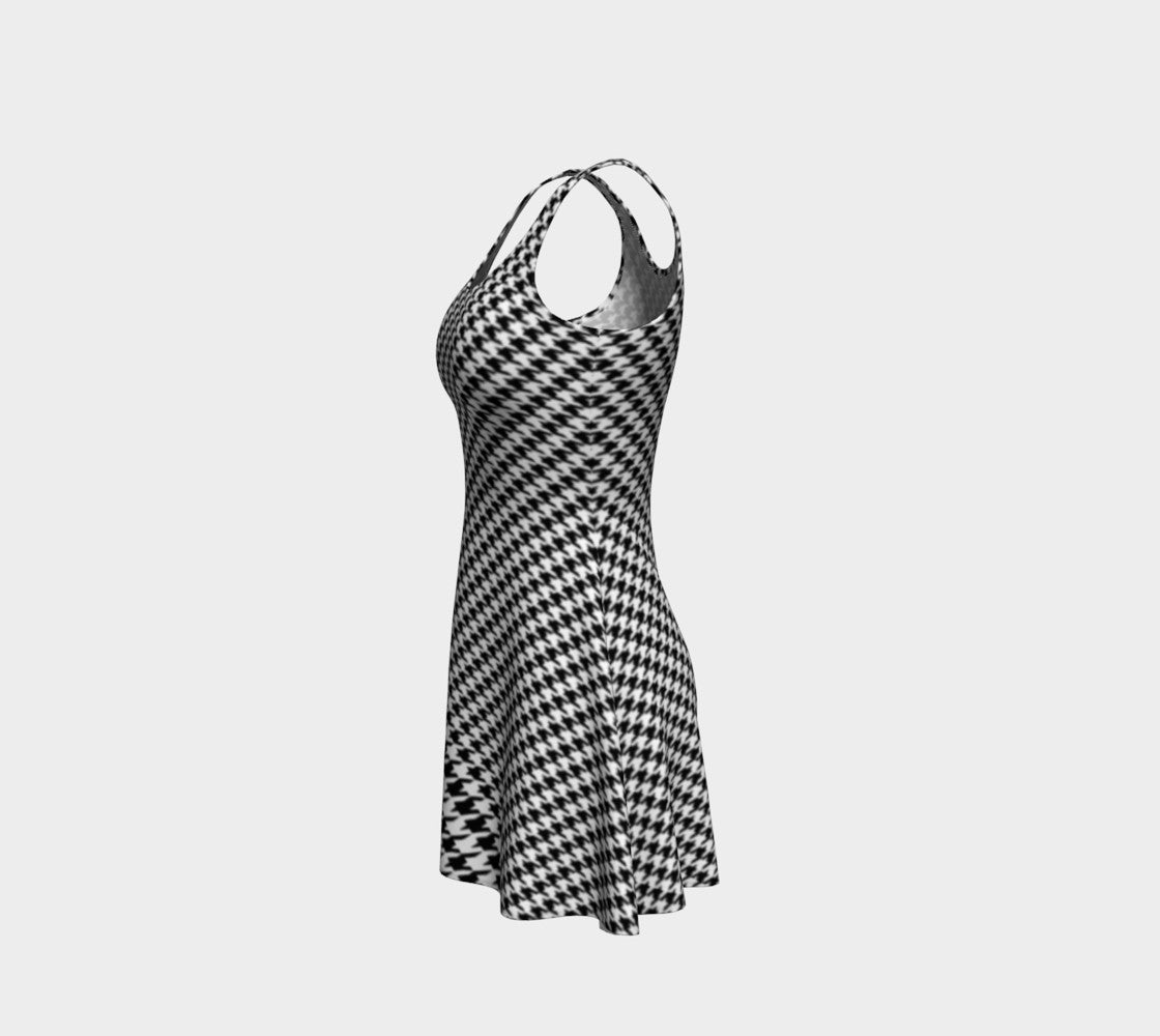 Houndstooth Flare Dress Flare Dress  Roxie Rudolph Roxie Rudolph Roxie Rudolph