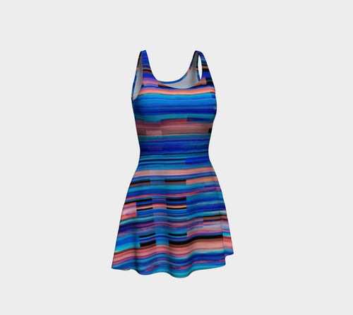 Taos Sunset Flare Dress
