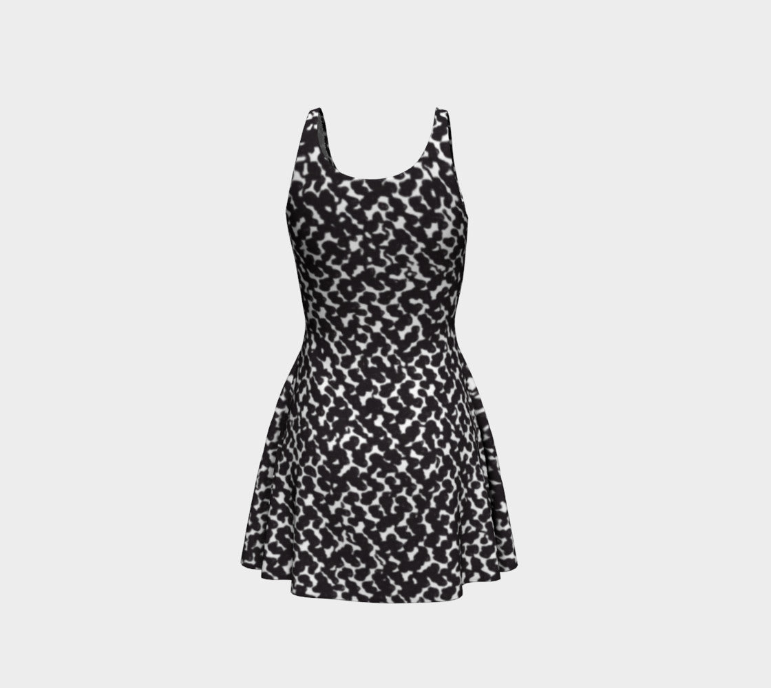 Graphic Animal Flare Dress Flare Dress  Roxie Rudolph Roxie Rudolph Roxie Rudolph