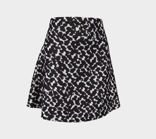 Graphic Animal Flare Skirt