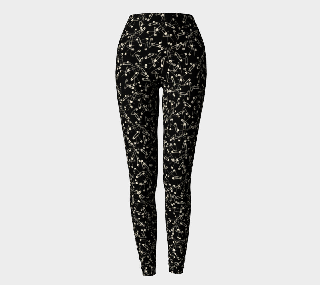 Safety Pin Leggings Leggings  Roxie Rudolph Roxie Rudolph Roxie Rudolph