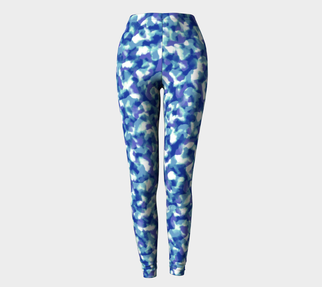 Blue Bliss Leggings Leggings  Roxie Rudolph Roxie Rudolph Roxie Rudolph