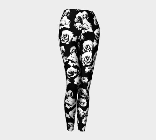 B+W Rose Leggings