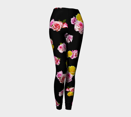 Photoreal Floral Leggings