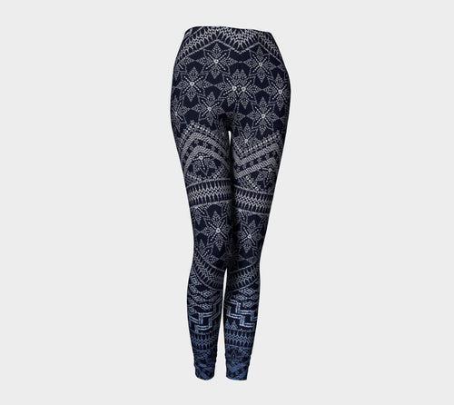 Boho Embroidery Leggings