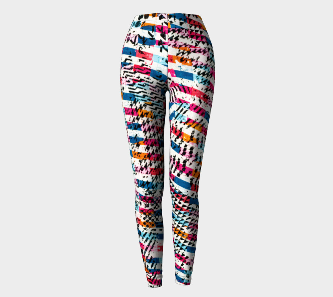 Patternmix Block Print Legging