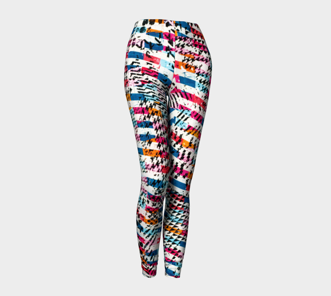 Patternmix Block Print Leggings