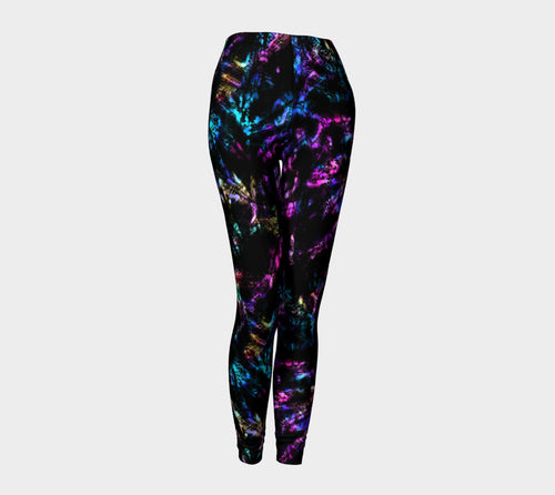 Neon Snake Leggings
