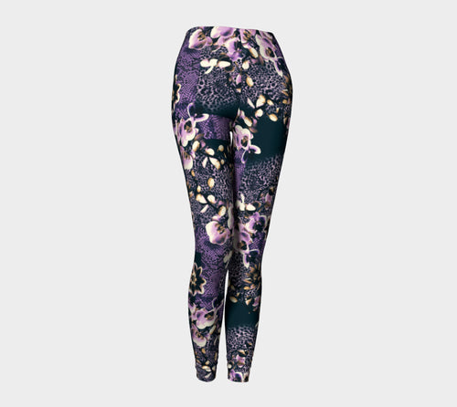 Floral Animal Leggings
