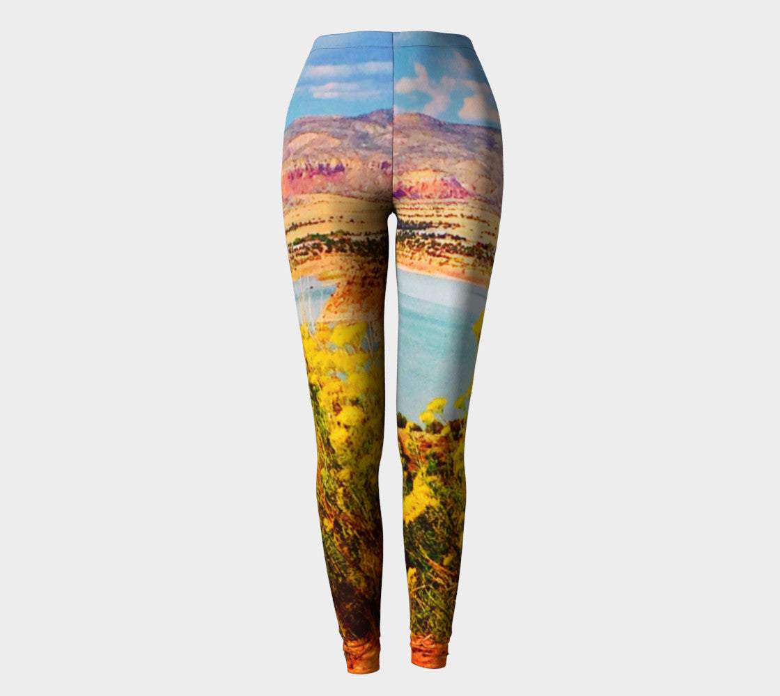Abiquiu Lake Leggings Leggings  Roxie Rudolph Roxie Rudolph Roxie Rudolph
