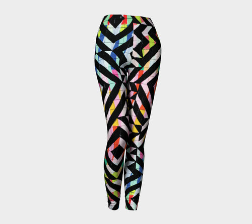 Street Art Mural Leggings