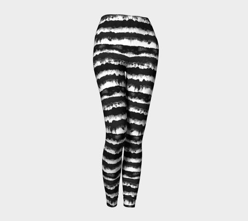 Inky Stripe Leggings