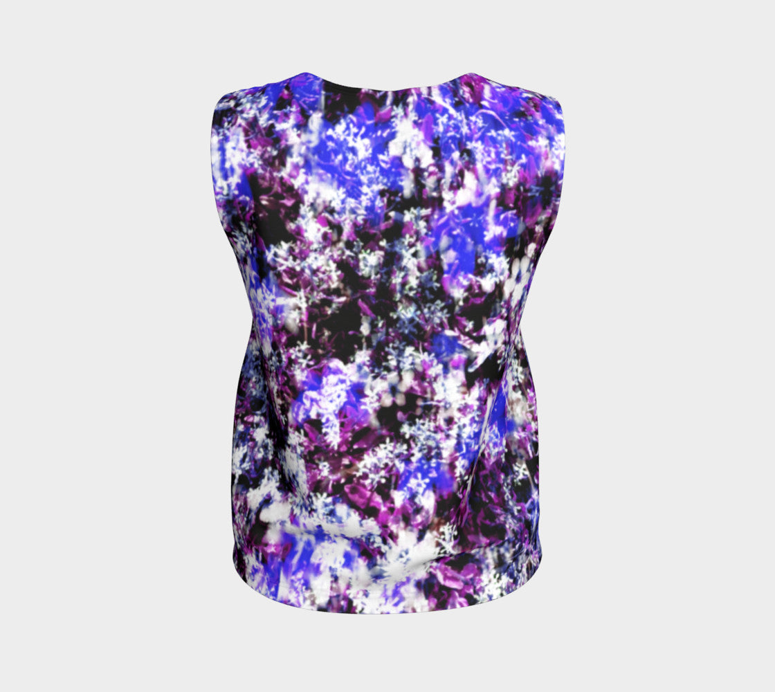 Fantasy Floral Loose Tank Top/Regular Length Loose Tank Top (Regular)  Roxie Rudolph Roxie Rudolph Roxie Rudolph