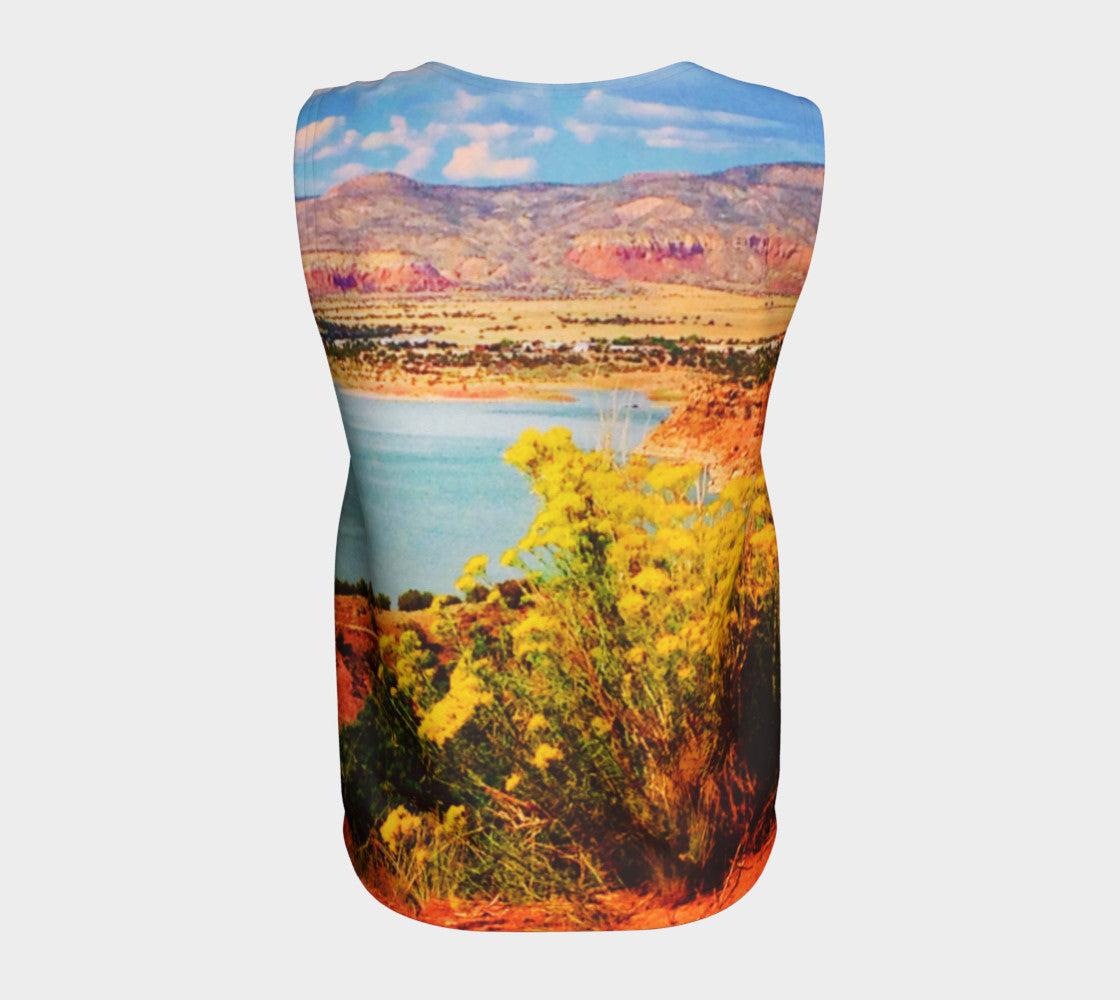Abiquiu Lake Loose Tank Top/Long Length Loose Tank Top (Long)  Roxie Rudolph Roxie Rudolph Roxie Rudolph
