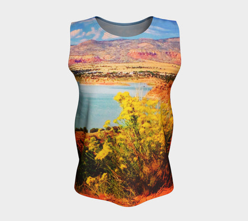 Abiquiu Lake Loose Tank Top/Long Length
