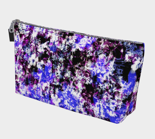 Fantasy Floral Makeup Bag