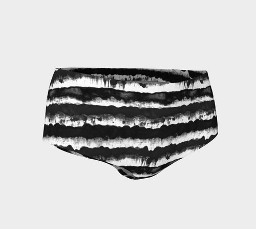 Inky Stripe Mini Shorts