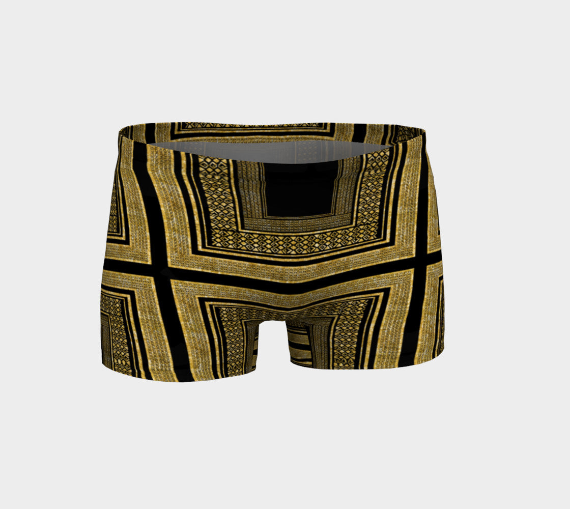 Gold Foil Frame Shorts Shorts  Roxie Rudolph Roxie Rudolph Roxie Rudolph