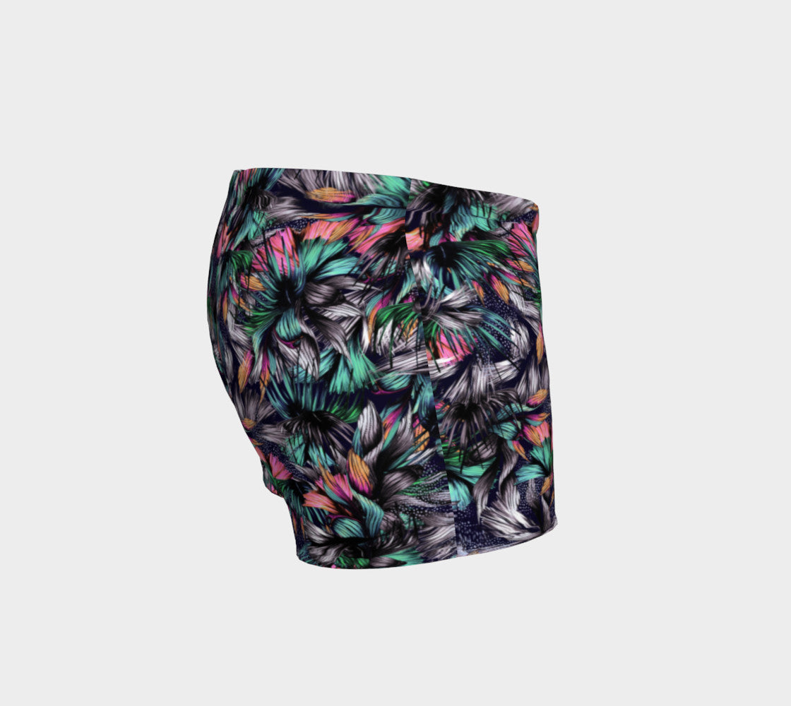 Feathery Tropical Shorts Shorts  Roxie Rudolph Roxie Rudolph Roxie Rudolph