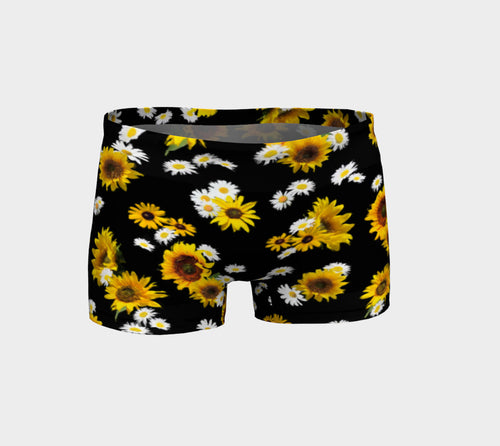 Sunflowers and Daisies Shorts
