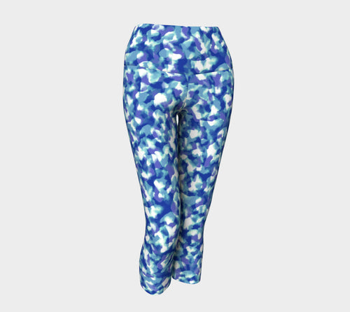 Blue Bliss Yoga Capris