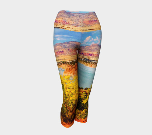Abiquiu Lake Yoga Capris