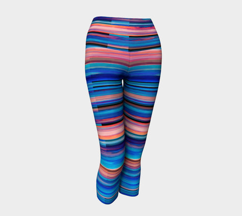 Taos Sunset Yoga Capris