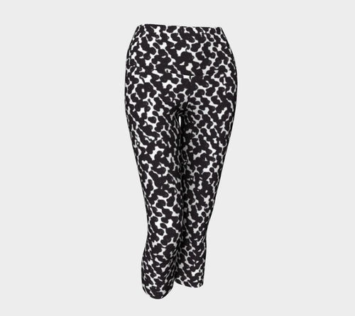 Graphic Animal Yoga Capris
