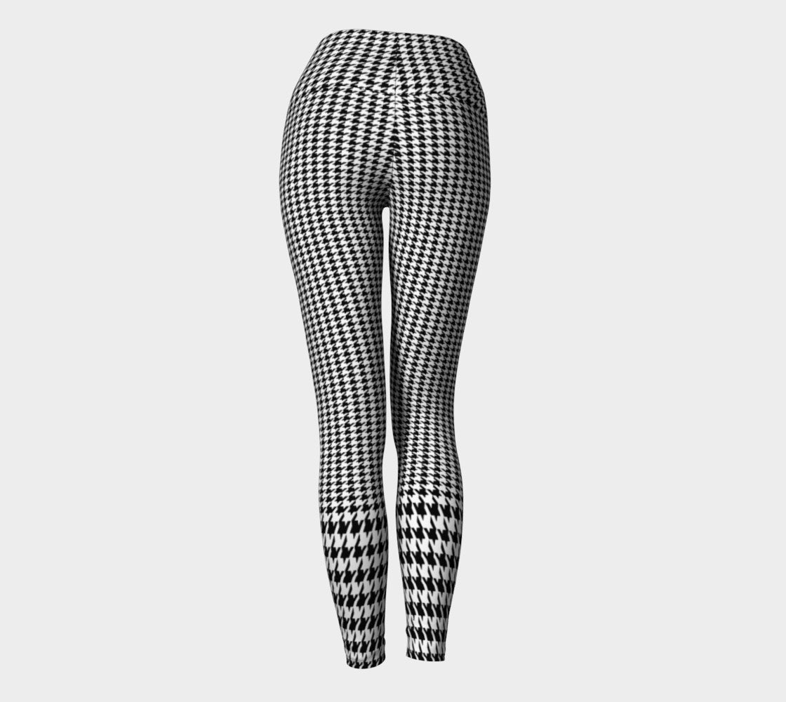 Houndstooth Yoga Leggings Yoga Leggings  Roxie Rudolph Roxie Rudolph Roxie Rudolph