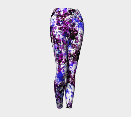 Fantasy Floral Yoga Leggings