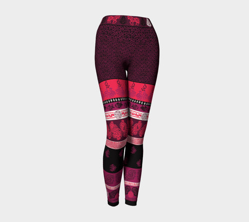 Animal Paisley Yoga Leggings