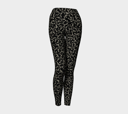Safety Pin Yoga Leggings