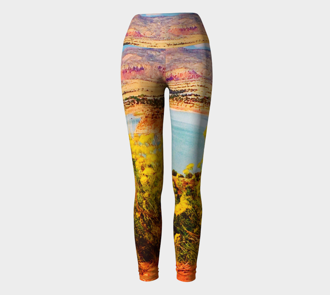 Abiquiu Lake Yoga Leggings Yoga Leggings  Roxie Rudolph Roxie Rudolph Roxie Rudolph