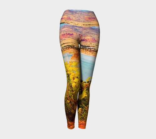 Abiquiu Lake Yoga Leggings