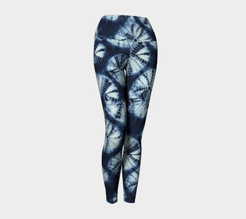 Shibori Yoga Leggings