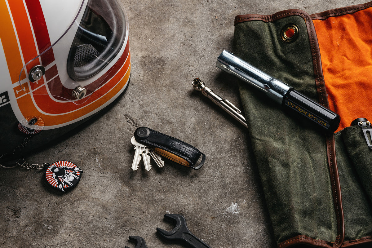 Introducing the Orbitkey x Return of the Café Racers