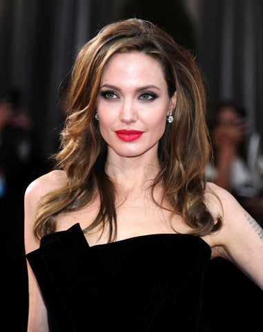 Angelina Jolie Square Face