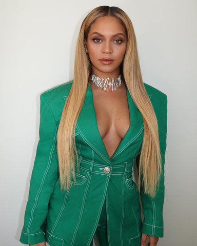 Beyonce Oval Face