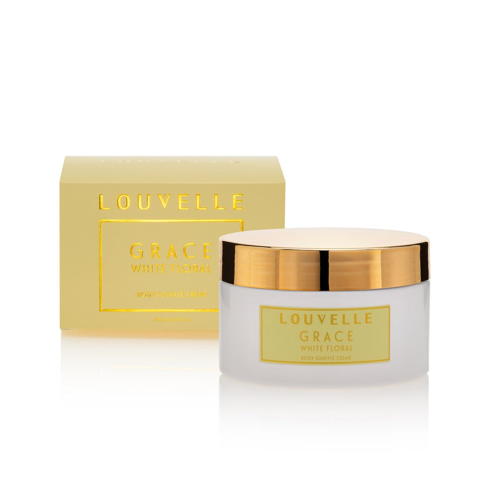 Grace White Floral Body Souffle Creme