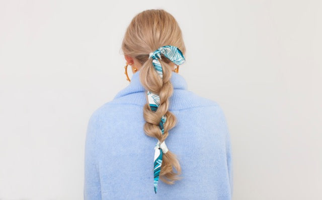 Juliette Hair Scarf in Palm Springs