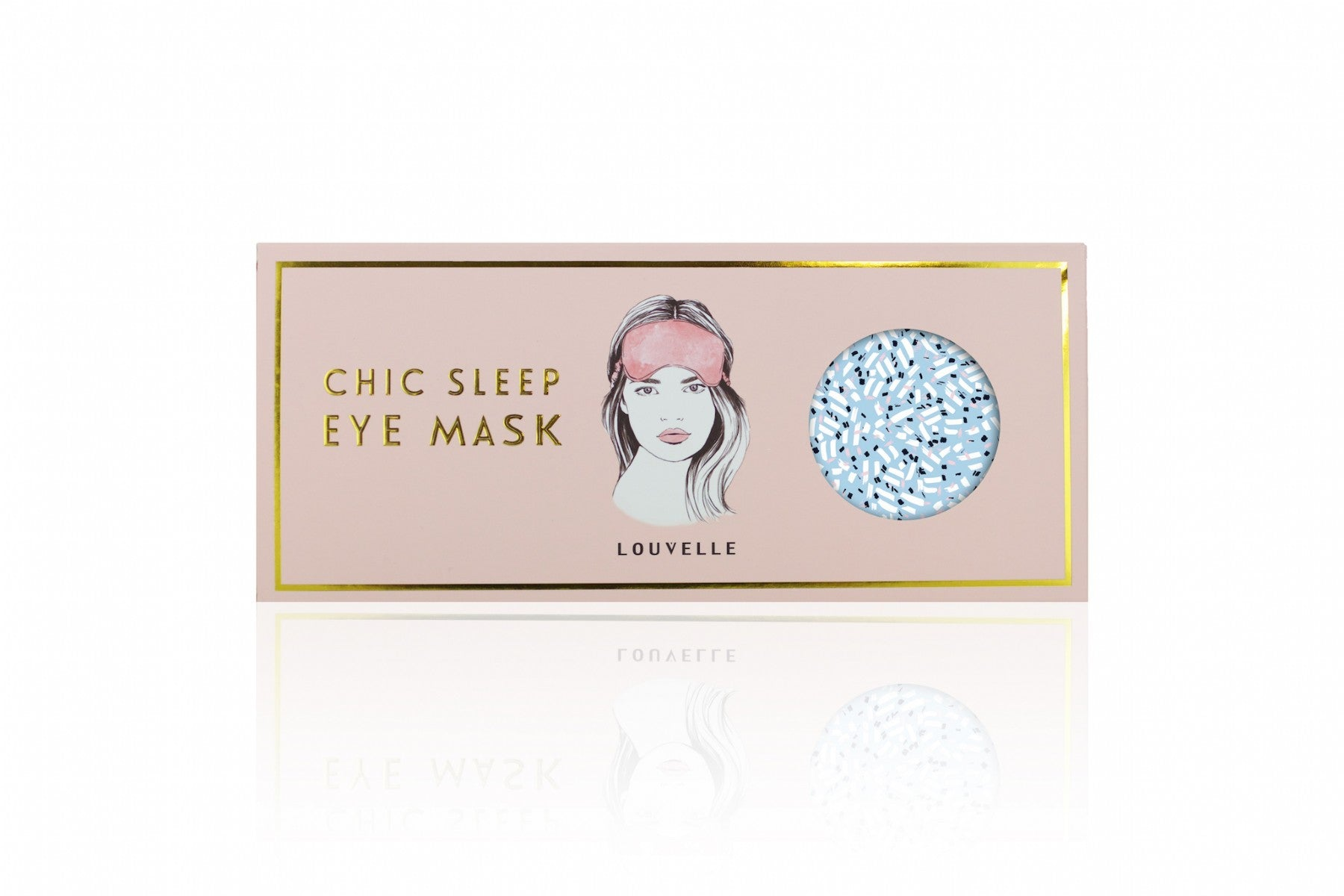 Chloe Eye Mask in Pacifica