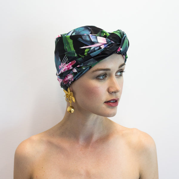DAHLIA shower cap in Hyper Paradise