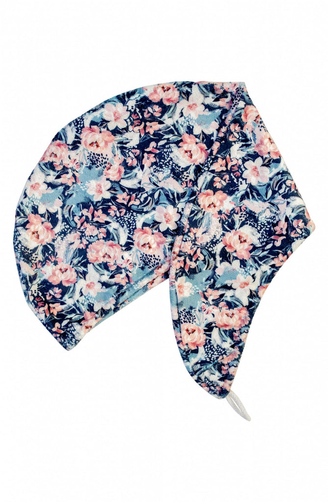 RIVA Hair Towel Wrap in Painted Peony