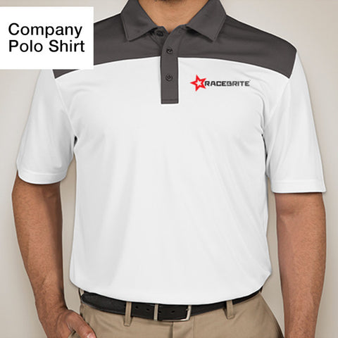 RACEBRITE® official company polo shirt