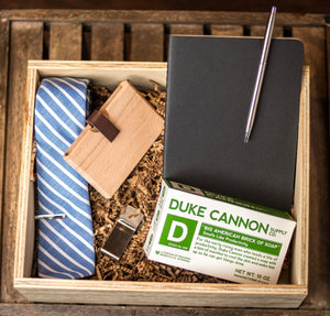 The Executive Gift Box from GroomCrate.