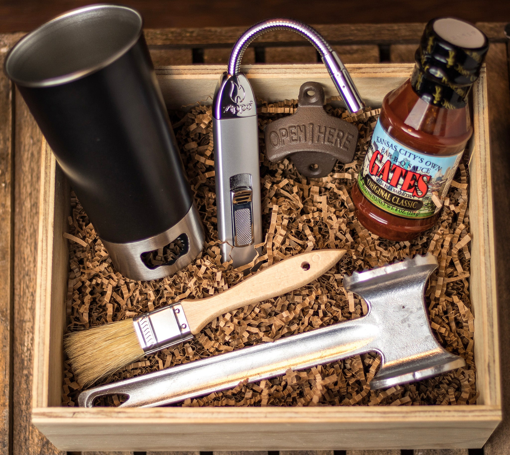 The Weekender Gift Box by GroomCrate.