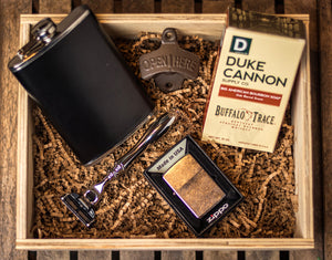 The Wingman Gift Box by GroomCrate.